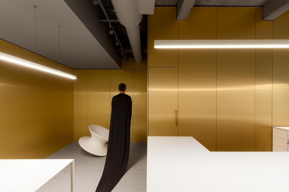 Restroom linear LED lighting