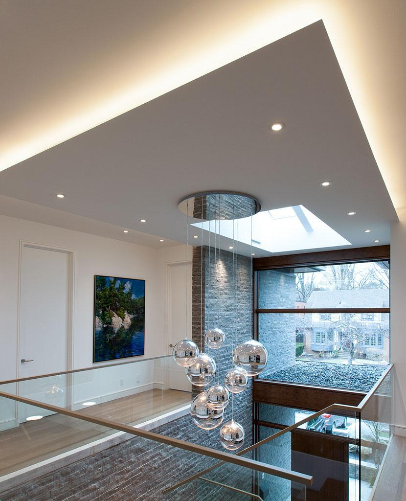 Drop ceiling LED lighting