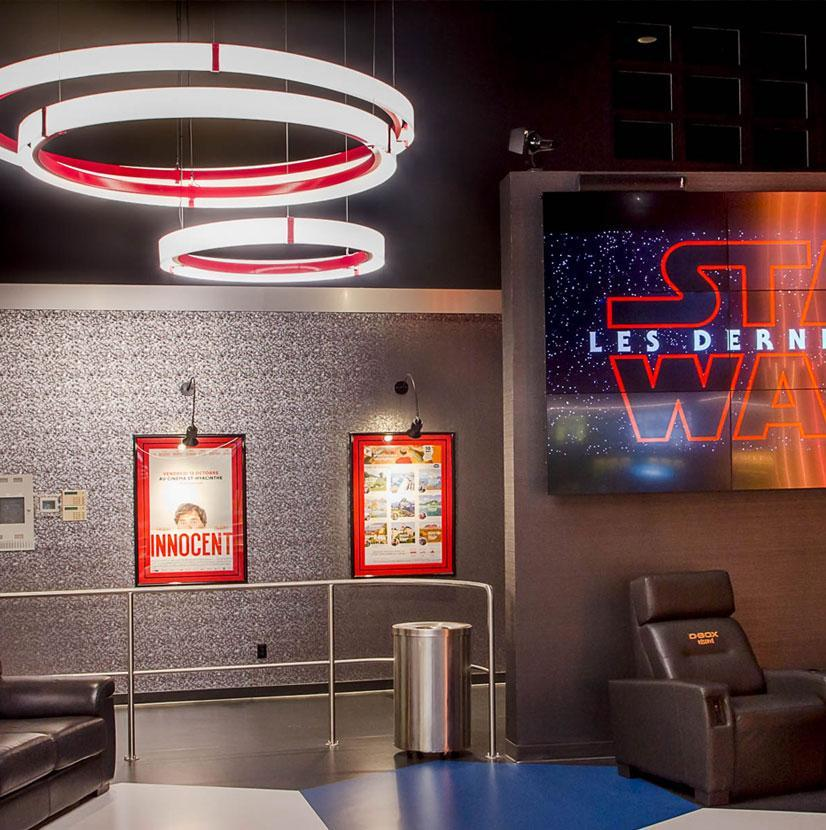 Cinema LED lighting