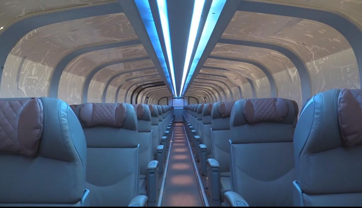 Train recessed LED lighting
