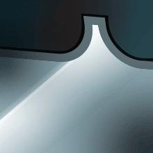 Recessed lighting icon